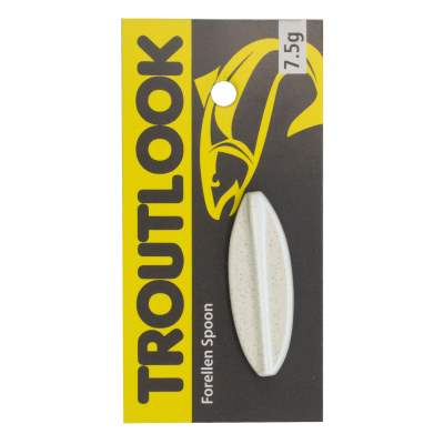 Troutlook Hurricane Inline Spoon, 3,66cm - 7,5g - Black-White Fluo