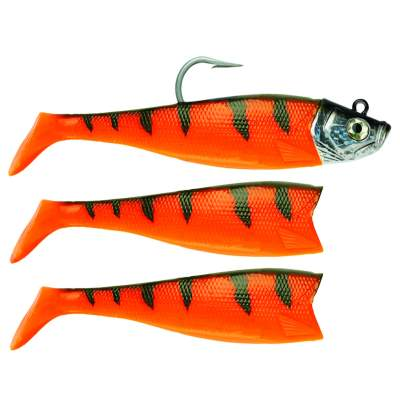 Storm Wildeye Giant Jigging Shad Gummifisch 18cm 264g OD Orange Demon