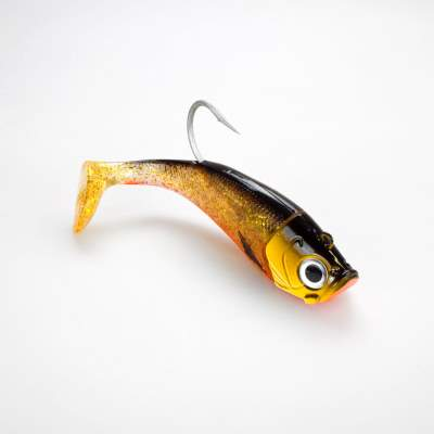 Team Deep Sea Saltwater Jig Shad, 20,0cm, 265g, 1 Kopf + 1 Shad, Golden Joker, - 20cm - Golden Joker - 265 - 1+1Stück