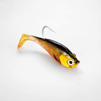 Team Deep Sea Saltwater Jig Shad, 16,0cm, 180g, 1 Kopf + 1 Shad, Golden Joker, - 16cm - Golden Joker - 180 - 1+1Stück