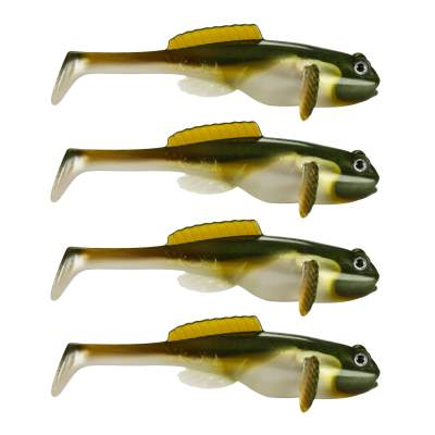 Fox Rage Grondle Wobble Grundel Gummifisch 10cm Arkansas Shiner, - 10cm - Arkansas Shiner - 4Stück