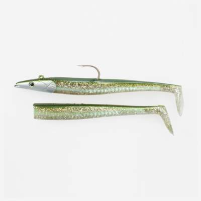 Savage Gear Saltwater Sandeel, 17cm, 65g, 2 bodies & 1 Head, Sandeel
