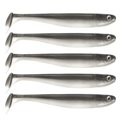 "Senshu Jig 'n' Swim Shad 5"" (12cm) 5 Stück Ghost Magic"
