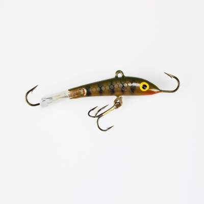 Kinetic Teaser Barsch Zocker Vertikal Jig 18g Brown Trout
