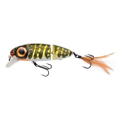 SPRO Iris Underdog Jointed 80 Wobbler, 8,5cm - 18,5g - Northern Pike - 1Stück