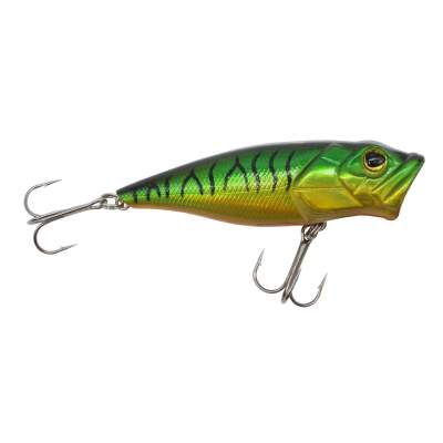 Viper Pro Splash Popp 8,5cm Green Tiger Topwater Popper, - 8,5cm - Green Tiger - 9g - 1Stück