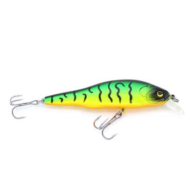 Viper Pro Flat Minnow 8,00cm Hot Bass, - 8cm - Hot Bass - 11g - 1Stück