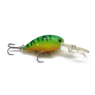 Viper Pro Fat Minnow 4,0cm Green Tiger Mini Crankbait, - 4cm - Green Tiger - 5g - 1Stück