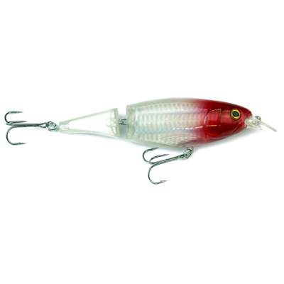 Viper Pro Mad Piker 13,50cm Silver Red Head Hecht Wobbler, - 13,5cm - Silver Red Head - 43g - 1Stück