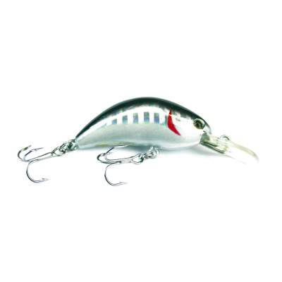 Viper Pro Little Humpy 4,0cm Silver Flash Minnow Mini Crankbait, - 4cm - Silver Flash Minnow - 4g - 1Stück