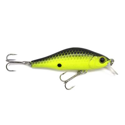 Viper Pro Witcher, 7cm - 10g - Black'n Yellow - 1Stück