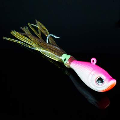 Team Deep Sea Flatter Jig 85g 5/0 pink