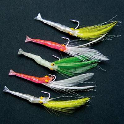 Shakespeare Meeresvorfach Salt XT Sea Lure Rig Multi Shrimp Lure