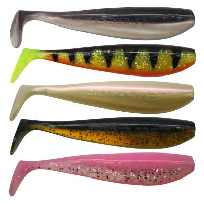 Fox Rage Zander Pro Shad UV 5Stück Mixed Pack, 7,5cm - Mixed Pack