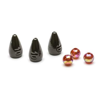 Svartzonker Sweden Bullet Weights 10g Dark Green, 3Stück