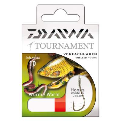 Daiwa Tournament Wurmhaken Gr. 2