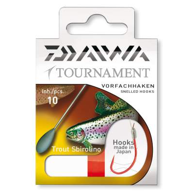 Daiwa Tournament Trout Sbirolino Gr.4, - 250cm - Gr.4 - 0,23mm - 10Stück