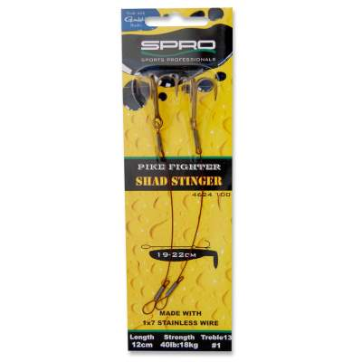 SPRO Pike Fighter Shad Wire Stinger (Angstdrilling) 12cm