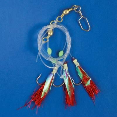 Kinetic DF Herings Vorfach 3 Makrele Paternoster Meeresangeln Hochsee Beifänger