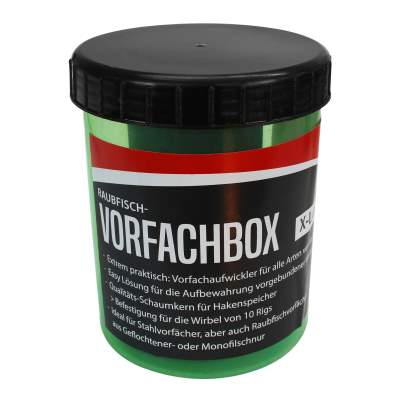 Roy Fishers Raubfisch-Vorfachbox X-Large, - 12,8cm - 9,5cm