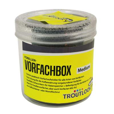 Troutlook Forellen-Vorfachbox Medium, - 8,0cm - 6,5cm