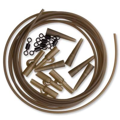 Korda Lead Clip Action Pack 16 teilig Clay