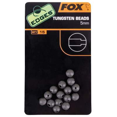 Fox Edges Tungsten Beads 5mm