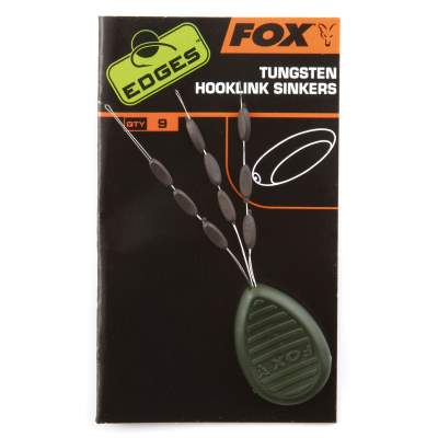 Fox Edges Tungsten hooklink sinkers x 9