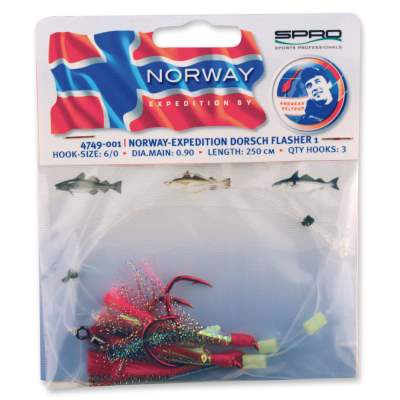 Spro Norway Expedition Norway Expedition Dorsch Flasher 1 Rig