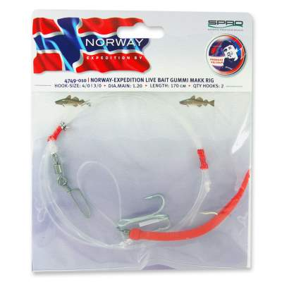 Spro Norway Expedition Norway Expedition Live Bait/ Gummi Makk Rig
