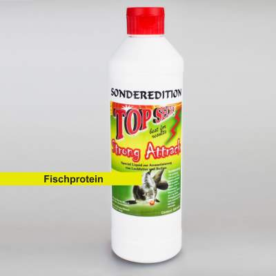 Top Secret Sonderedition flüssig Lockstoff/ Emulsion 500 ml Fischprotein, -Fischprotein - 500ml