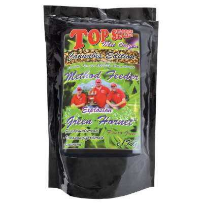 Top Secret Cannabis-Edition Hanf Method Feeder Green Hornet fluor green1Kg