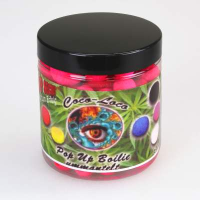 Top Secret Cannabis Edition Coco-Loco Fluo Pop-Ups, Fenugrec 10,16, 20mm gemischt pink 100g