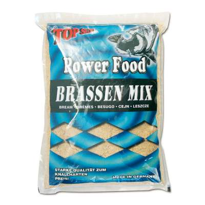 Top Secret Power Food Grundfutter Brassen Mix 1Kg