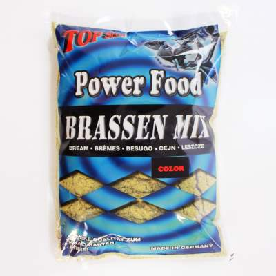 Top Secret Power Food Grundfutter Color Brassen Mix 1Kg