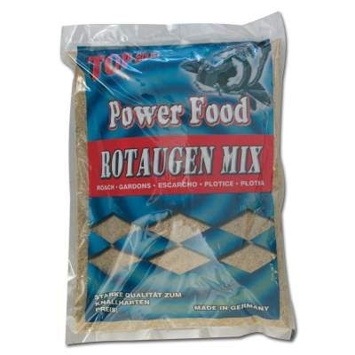 Top Secret Power Food Grundfutter Rotaugen Mix 15Kg