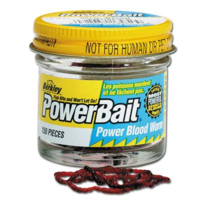 Berkley Powerbait Power Blood Worm Zuckmückenlarven rot