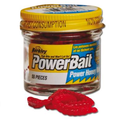 Berkley Powerbait Power Honey Maggot Bienenmaden rot