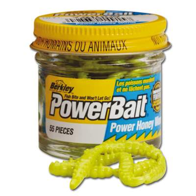 Berkley Powerbait Power Honey Maggot Bienenmaden gelb