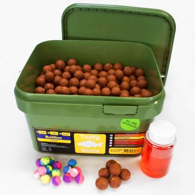 Tasty Baits Bucket Boilies 20mm Sessionpack Pop-Up + Dip 2,5kg Killer Krill
