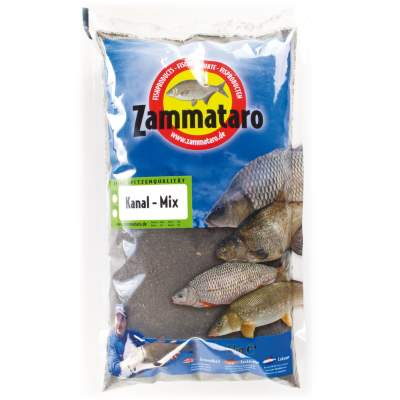 Zammataro Fertigfutter Kanal Mix black 1kg, - Kanal Mix black 1kg