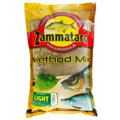 Zammataro Fertigfutter Method Mix Light 1kg, - Method Mix Light 1kg