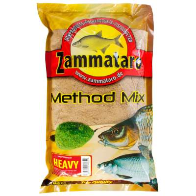 Zammataro Fertigfutter Method Mix Heavy 1kg, - Method Mix Heavy 1kg
