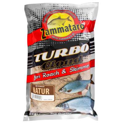 Zammataro Fertigfutter Turbo Cloud Natur 1kg, - Turbo Cloud Natur 1kg