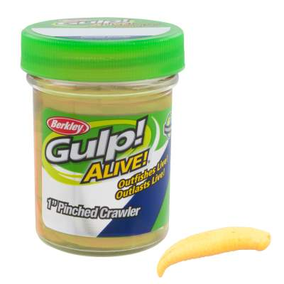 Berkley Gulp! Floating Pinched Crawler 1 Chunky Cheese