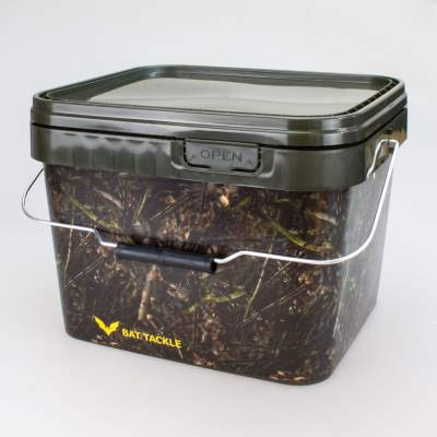 BAT-Tackle Realistric® Bait Bucket 10L Angel- Futtereimer mit Deckel