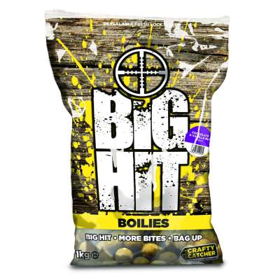 Crafty Catcher Big Hit Boilies 20mm 1kg + Pop Ups Chocolate & Vanilla Nut,