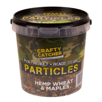 Crafty Catcher Prepared Particles 1,1Liter Hemp Wheat & Maples Futter Partikel