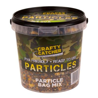 Crafty Catcher Prepared Particles 1,1Liter Particle Bag Mix Futter Partikel