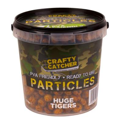 Crafty Catcher Prepared Particles 1,1Liter Huge Tigers Futter Partikel